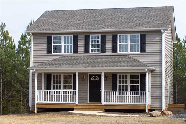 Custom Home Exteriors Model jt homes: central virginia residential home builders: home builder